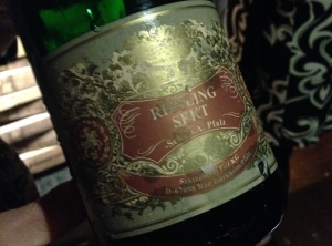 Fitz Ritter Riesling Sekt Bottle Boarding House