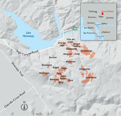 Pritchard Hill Map