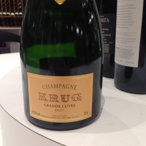 Krug with appetizers