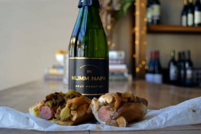 Champagne_With_Hotdogs