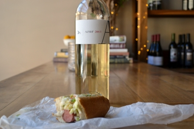 Sauvignon Blanc Paired with Hotdogs
