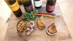 Grilled Cheese Paired with Wine